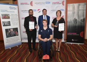 25/11/2016 Lancashire Sports Awards 2016 Lancashire Sport Partnership editorial use only. No non contextual use. No syndication/Photosales or third party use