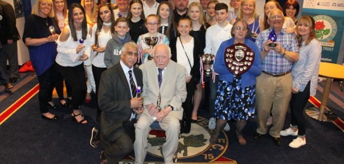 Blackburn with Darwen Sports Awards Winners