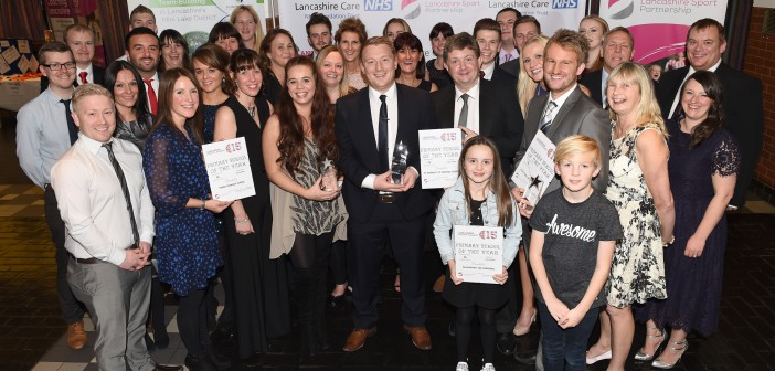 Success at the Lancashire Sports Awards 2015
